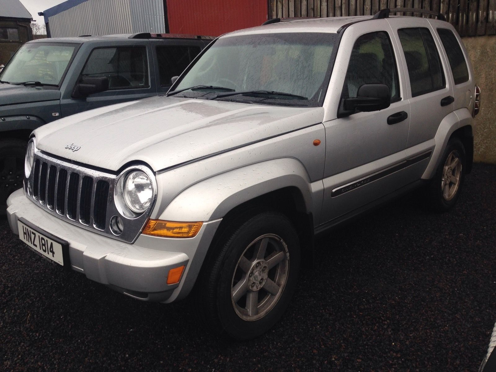 Jeep Cherokee Sport 2 8 Crd Breaking All Parts Available Ns Wing In Silver Jeep Chrysler